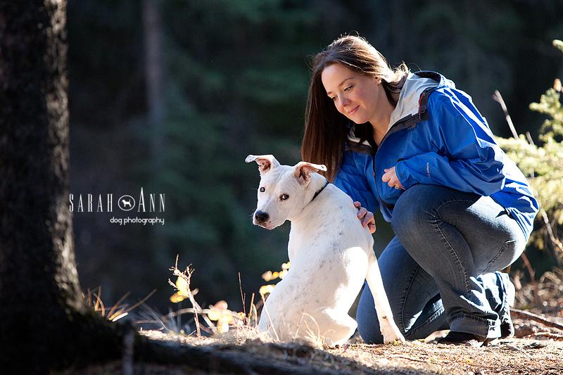 image-woman-with-Dobo-dog-connection-white-argentino-dobo-dog-image
