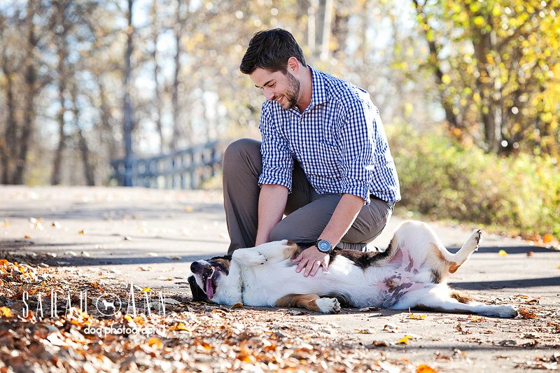 image-man-playing-bonding-with-dog-SarahAnn-Dog-Photography, man with rescue dog, smiling dog